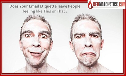 Email etiquette redmatchstick