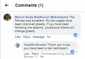 Suze-Bouwer Course Testimonia