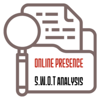 Online Presence SWOT analysis. audit