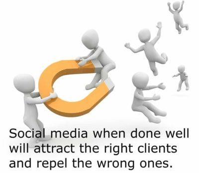 How to do social media marketing to attract