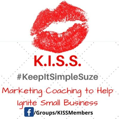 Keep It Simple Suze Marketing Support Group on Facebook